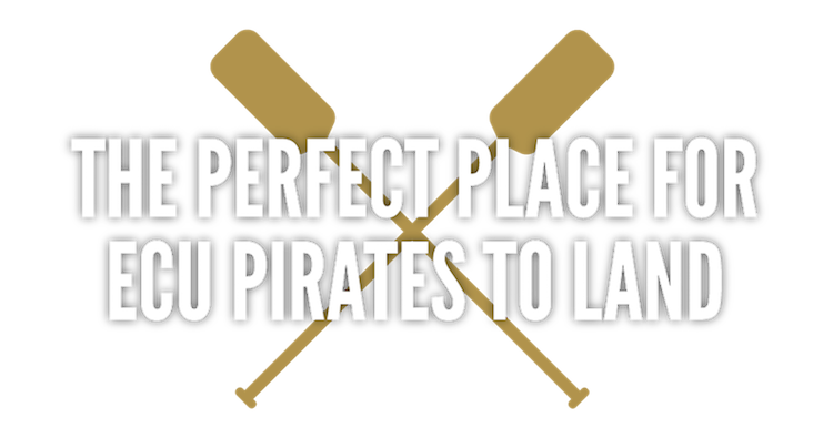 The Perfect Place for ECU Pirates to Land in North Carolina
